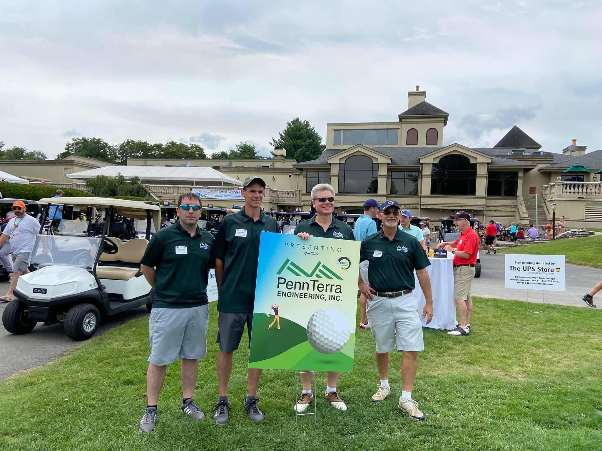 CBICC 'DRIVING CENTRE COUNTY'S ECONOMY' BUSINESS GOLF OUTING